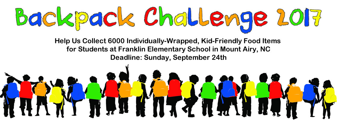 Backpack Challenge 2017
